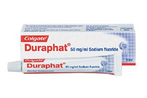 Фторирование зубов лаком Duraphat